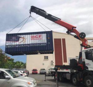 transport conteneur déménagement DCF Mayotte