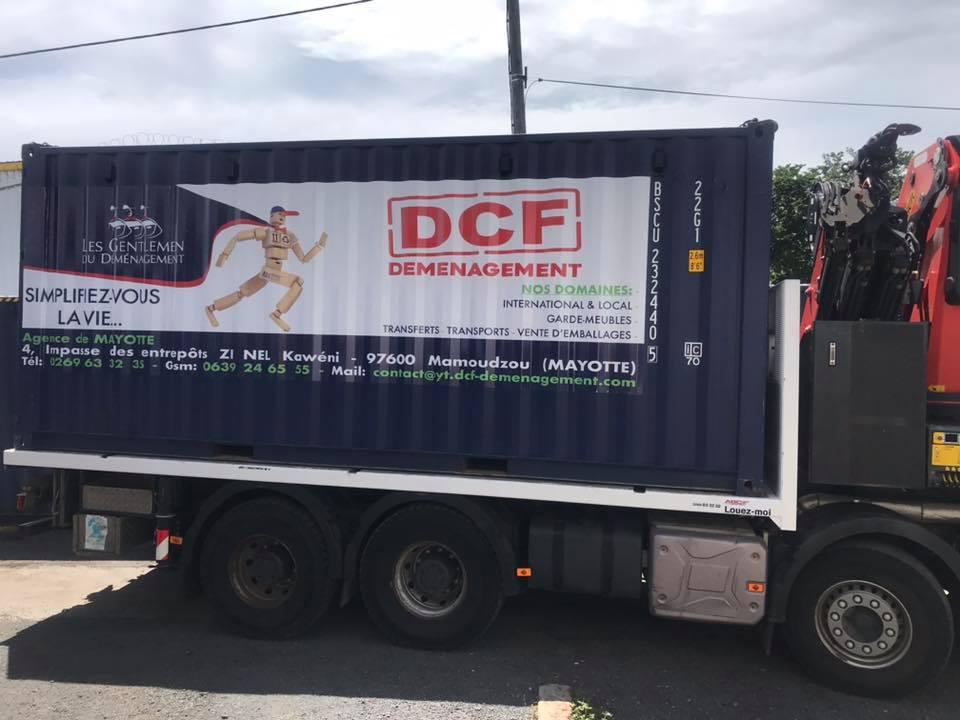camion déménagement Mayotte - DCF Mayotte