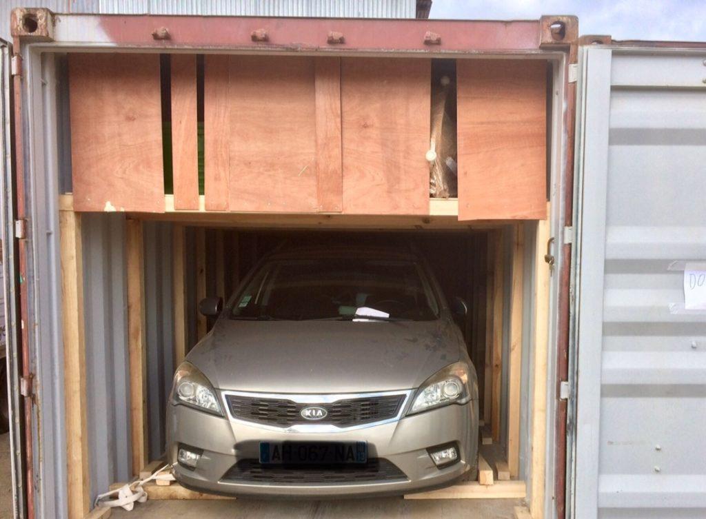 voiture déménagement DCF Mayotte