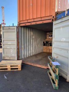 conteneur de déménagement DCF Mayotte