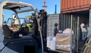 conteneur déménagement - dépôt dépôt - DCF Mayotte